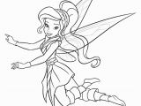 Tinkerbell Vidia Coloring Pages Cruise Ship Outline