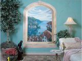 Tips for Painting Wall Murals Mediterranean Villas Window Mural