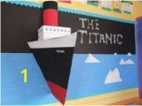 Titanic Wall Mural 3d Titanic Display Library Display Ideas Pinterest