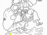 To Market to Market Coloring Page Mother Goose Coloring Page Pre K Arts & Crafts