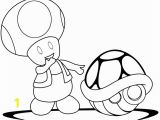 Toad Mario Coloring Pages Mario Turtle Shell Coloring Page 5 by Brenda