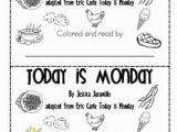 Today is Monday Eric Carle Coloring Pages today is Monday On Pinterest