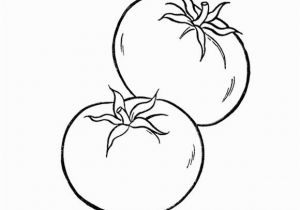 Tomatoes Coloring Pages Healthy tomato Ve Ables Coloring Page for Kids