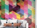 Tonal Circles Wall Mural Create A Feature or Statement Wall with some Geometric