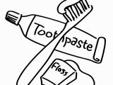 Tooth and toothbrush Coloring Pages Brush Clipart Coloring