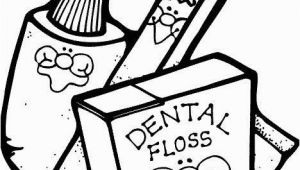 Toothbrush and toothpaste Coloring Page Dentist Coloring Pages Luxury toothbrush toothpaste and Dental Floss