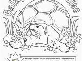 Tortoise and the Hare Coloring Page Color the tortoise and the Hare Worksheet