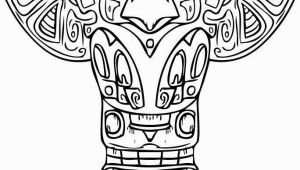 Totem Pole Faces Coloring Pages totem Pole Faces Coloring Pages Unique 137 Best Woodcarve totem