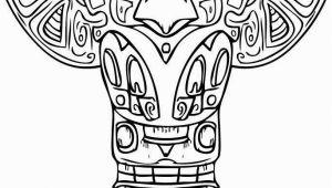 Totem Pole Faces Coloring Pages totem Pole Faces Coloring Pages Unique 137 Best Woodcarve totem