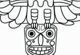 Totem Pole Faces Coloring Pages totem Pole Faces Coloring Pages Unique Coloring Pages Line to Print