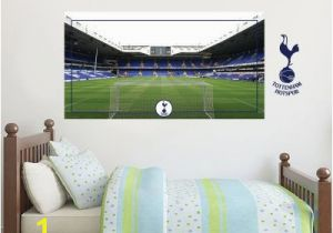 Tottenham Hotspur Wall Murals tottenham Hotspur Football Club Stadium Behind the Net Mural & Spurs