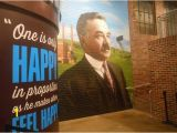 Township Wall Mural Advertising A Wall Mural Of Mr Hershey Picture Of Hershey S Chocolate