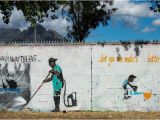 Township Wall Mural Advertising Cape Flats New Hope In Apartheid S Dumping Ground