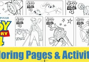 Toy Story 4 Coloring Pages Printable Coloring Pages toy Story 4 All Characters – Wiggleo