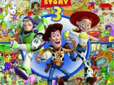 Toy Story Gang Coloring Pages toy Story 3 Look and Find Art Mawhinney