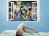 Toy Story Murals Best Selling toy Story 3 Cartoon 3d Window Scenery Wall Decals