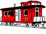 Train Caboose Coloring Pages Printable Caboose Coloring Page
