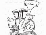 Train Caboose Coloring Pages Printable Cartoon Train