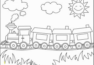 Train Coloring Pages for toddlers Simple Train Drawing Train Drawing for Kids Free Download