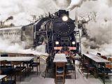Train Murals for Walls Beibehang 3d Wallpaper Elephant Mural Tv Wall Background Wall Living