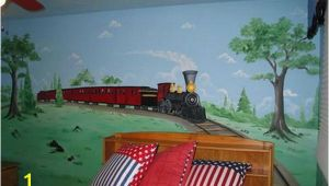 Train Murals for Walls Old Train Wall Murals Bedroom Ideas Harry S Bedroom