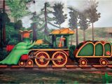 Train Murals for Walls Transform Your Child S Space with Dinosaur Train Inspired Wall