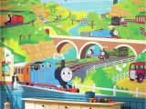 Train Murals for Walls York Wall Coverings York Wallcoverings Thomas the Tank Engine