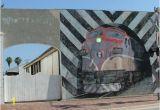 Train Station Wall Mural Mural Trail