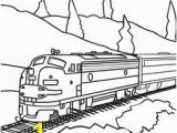 Train Tracks Coloring Pages 45 Best Coloring Trains Images On Pinterest