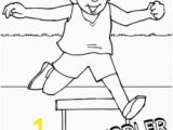 Train Tracks Coloring Pages Track and Field Coloring Page