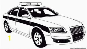 Transformer Police Car Coloring Page Free Download Police Car Patrol On the Road Coloring Pages