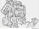 Transformers Rescue Bots Academy Coloring Pages Fabulous Rescue Bots Chase Coloring Page Free Coloring