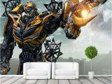 Transformers Wall Murals Transformers Bumblebee Wall Mural Wall Art Wallpaper
