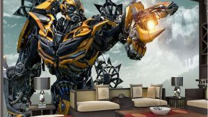 Transformers Wall Murals Transformers Bumblebee Wall Mural Wall Art Wallpaper