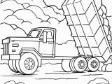 Trash Truck Coloring Page Best Coloring Construction Truck Colorings Incredible