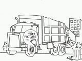 Trash Truck Coloring Page Coloring Pages Coloring Pages I Stinkrbage Truck Page for