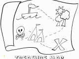 Treasure Map Coloring Pages Simple Map Drawing at Getdrawings