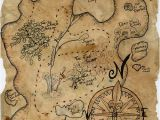 Treasure Map Wall Mural Pirate Treasure Map