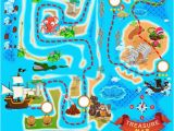 Treasure Map Wall Mural Treasure Map Wallpaper Wall Mural