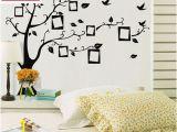 Tree Mural Wall Art Diy World Map Removable Pvc Vinyl Art Room Wall Sticker