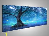 Tree Of Life Wall Mural Fairy Tree In Mystic forest Photo Wallpaper Wall Mural