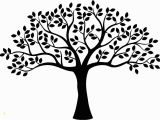 Tree Silhouette Wall Murals Decor Tree Free Vector Cdr Download