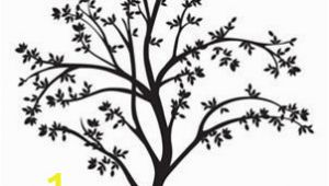 Tree Silhouette Wall Murals Tree Silhouette Wall Decal