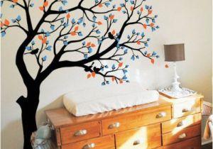 Tree Wall Mural for Nursery Get It now Tree Wall Decal Huge Tree Wall Decals Nursery