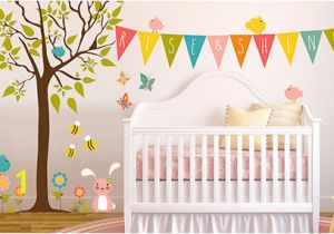 Tree Wall Mural for Nursery Nursery Wall Decals & Kids Wall Decals