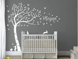 Tree Wall Mural for Nursery Tree Wall Art Stickers Amazon