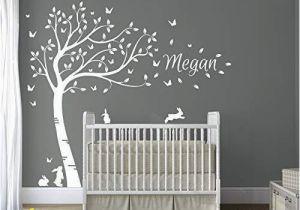 Tree Wall Mural for Nursery Tree Wall Art Stickers Amazon