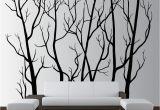 Tree Wall Mural Stencil Wall Vinyl Tree forest Decal Removable 1111 Innovativestencils