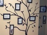 Tree Wall Mural with Picture Frames Family Tree Wall Done by My Sisters Tree Stickers From Pier