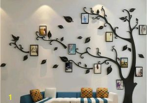 Tree Wall Mural with Picture Frames Pin by Elo On Loisirs Créatifs In 2019